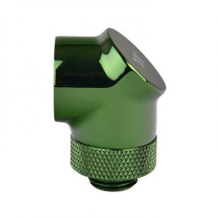 Thermaltake CL-W052-CU00GR-A Pacific G1/4 90 Degree Adapter – Green (2-Pack Fittings)