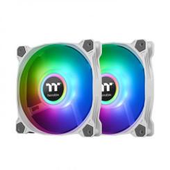Thermaltake  CL-F097-PL12SW-B Pure Duo 12 ARGB Sync Radiator Fan (2-Fan Pack)-White