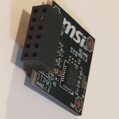 MSI TPM2SPI TPM2.0 (12Pin, 1 Closed) Module (SPI)