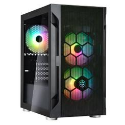 Silverstone SST-FAH1MB-PRO MATX/Mini-ITX ARGB Gaming Case