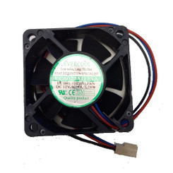 EverCool EC6025M12S 60x60x25m Sleeve Fan, 3PIN