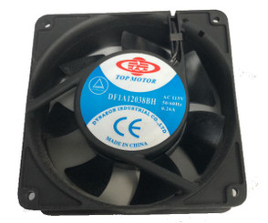Top Motor  DF1A12038BH 120x120x38mm AC 115V Fan - No Wire
