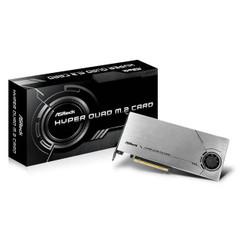 ASRock HYPER QUAD M.2 CARD Bootable M.2 RAID Support