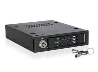 ICY DOCK MB601VK-B 2.5inch U.2 NVMe SSD Mobile Rack For External 3.5 inch Drive Bay