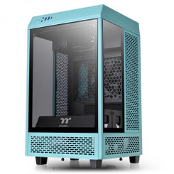 Thermaltake CA-1R3-00SBWN-00 The Tower 100 Turquoise Mini Chassis