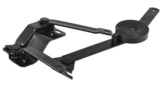 1947-55 C10 hood hinge & support link assembly lt