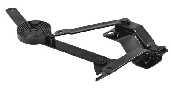 1947-55 C10 hood hinge & support link assenbly rt