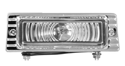 1947-53 C10 park lamp assembly 12 volt clear