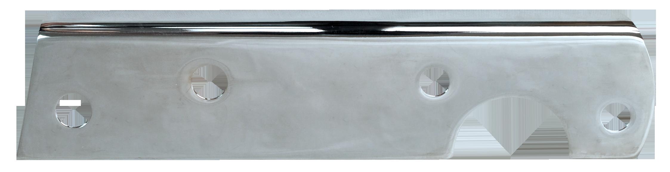 1954-55 C10 tail light bracket in chrome rt
