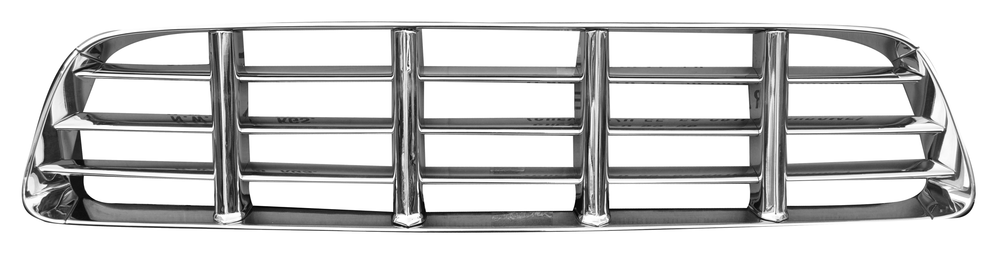 1955-56 C10 grille assembly chrome