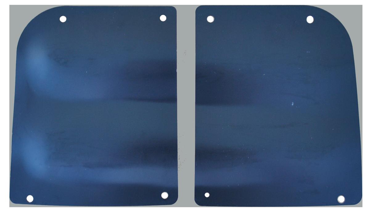 1955-59 GM Truck Door Hinge Access Cover Plates
