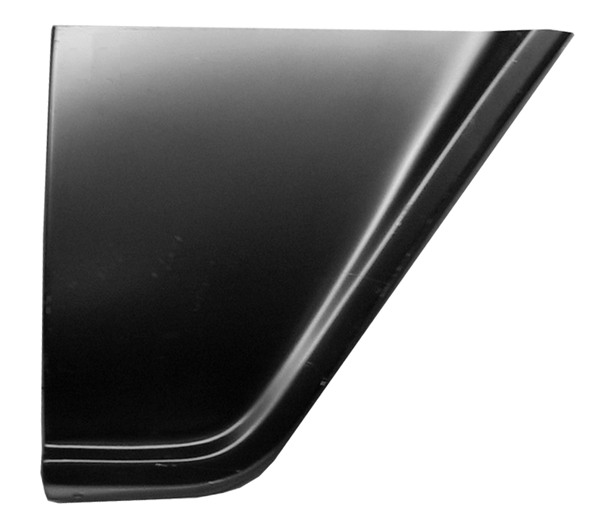 1955-57 C10 lower rear fender section rt