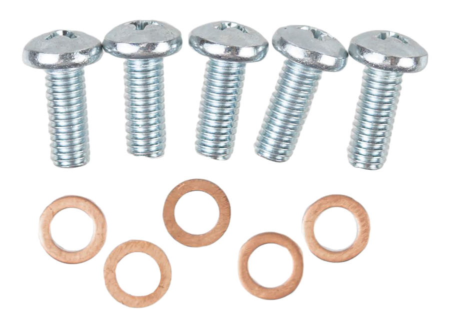 1955-59 GM truck fuel sending unit screws with crush washers