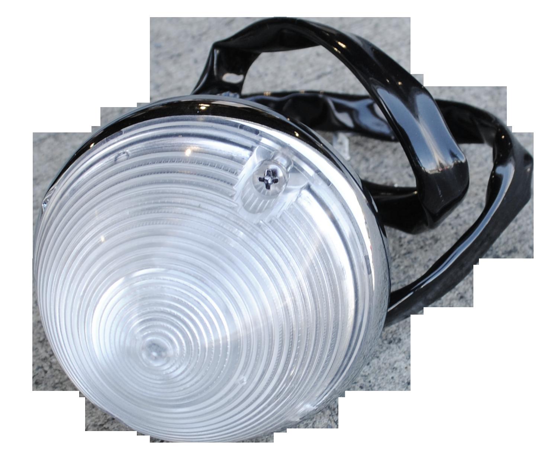 1955-57 C10 park light assembly clear lens