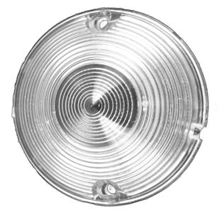 1955-57 C10 parking light lens clear