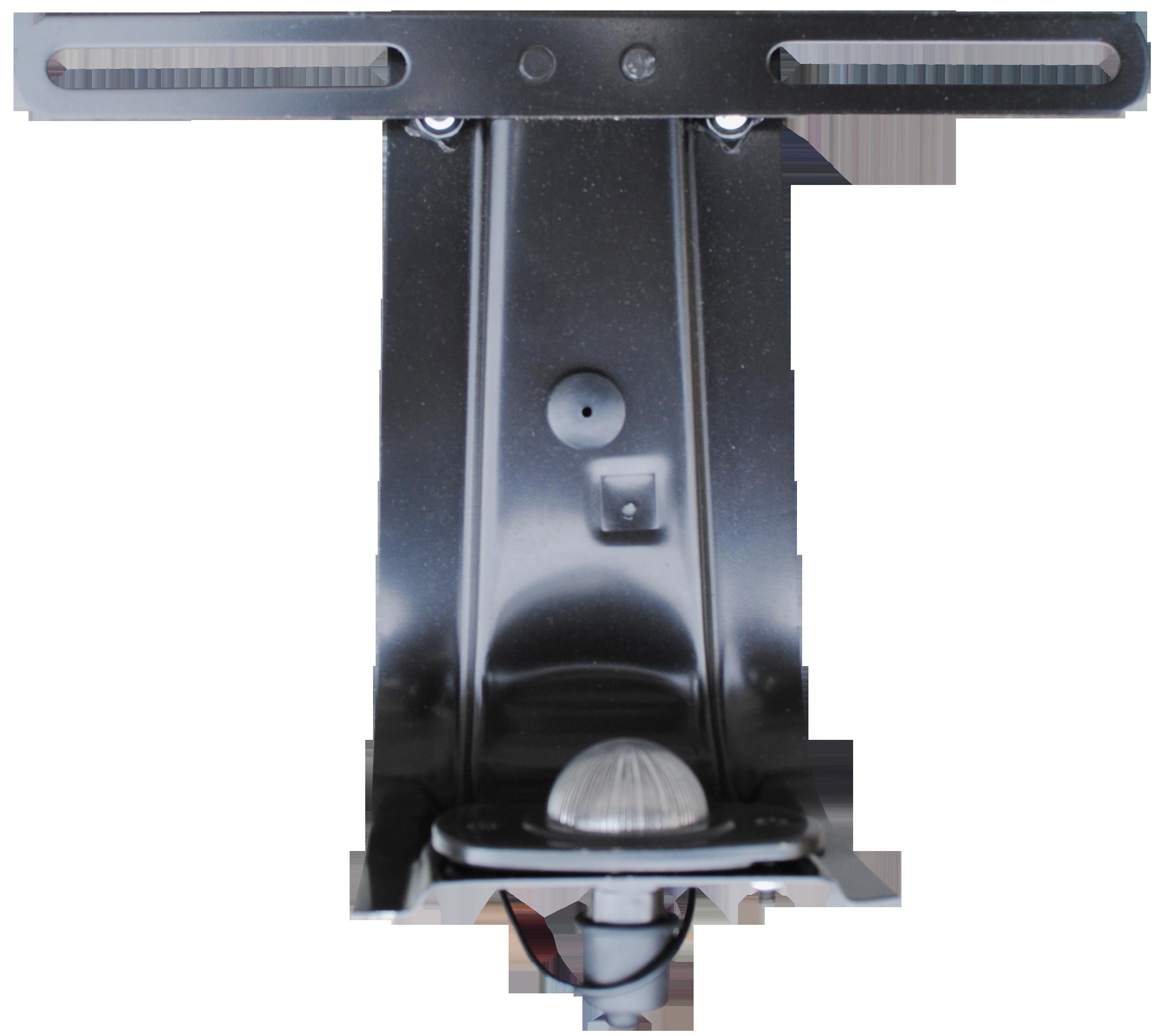 1954-59 C10 rear license plate bracket w/lamp