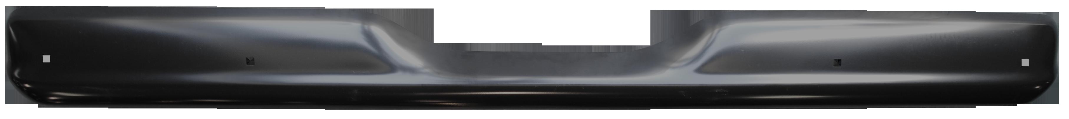 1960-62 C10 rear bumper paintable w/o license hole