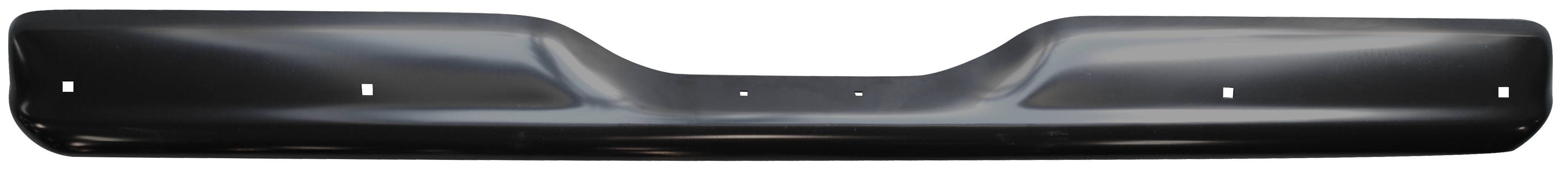 1960-62 C10 rear bumper paintable w/license hole