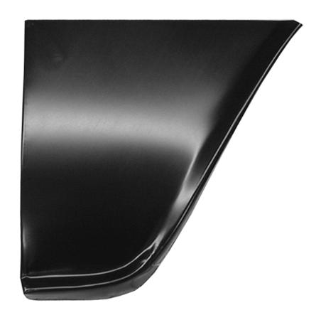 1960-66 C10 rear lower fender section rt
