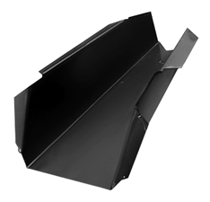 1960-66 C10 rear floor support slip on rt