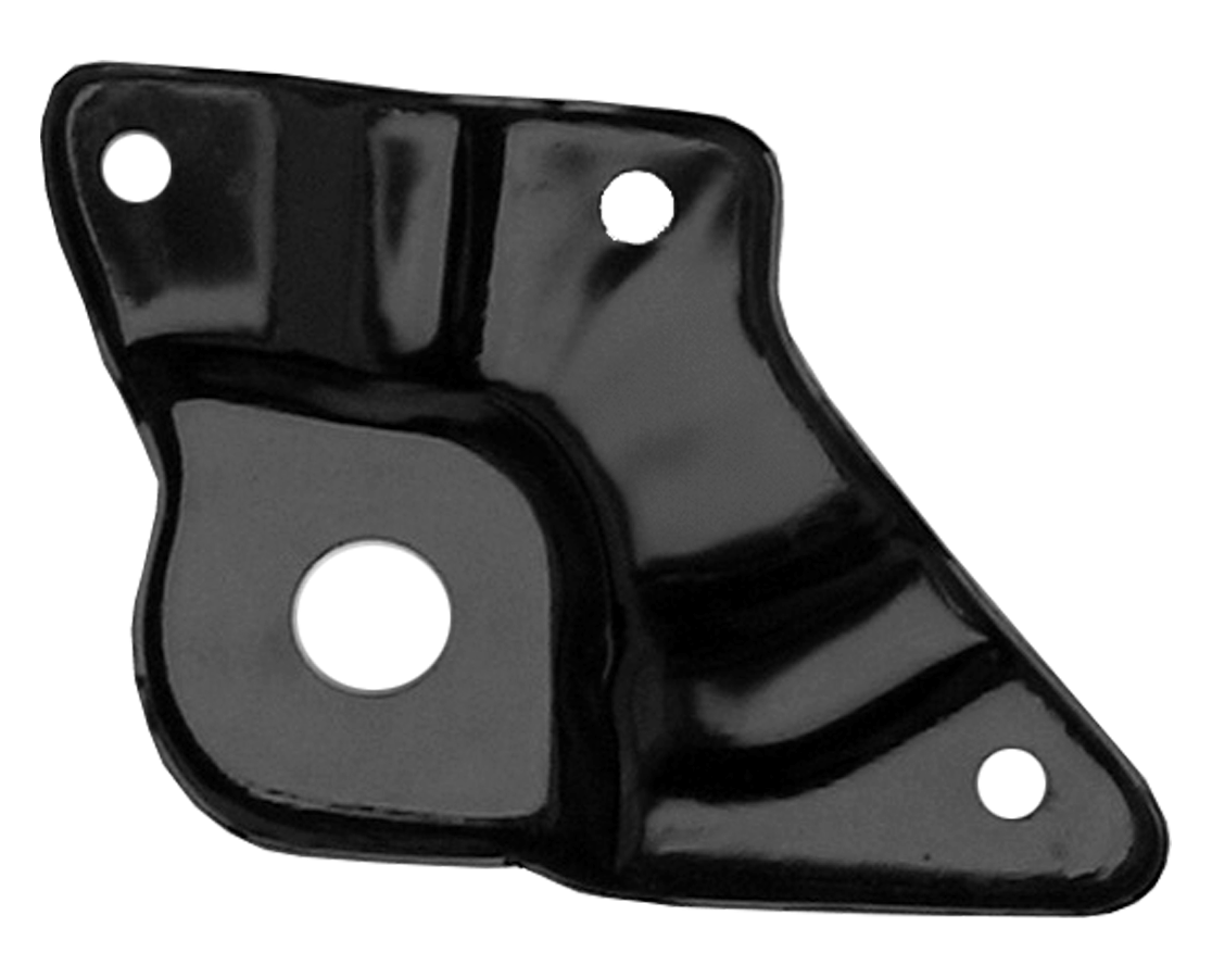 1960-66 C10 lower rear front fender mounting plate lt