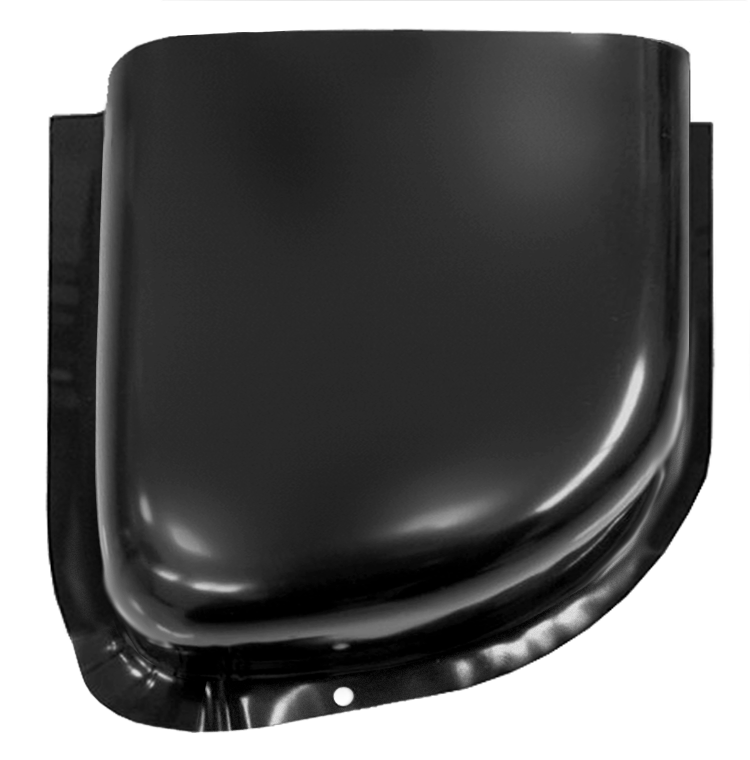 1960-66 C10 air vent cowl lower section rt
