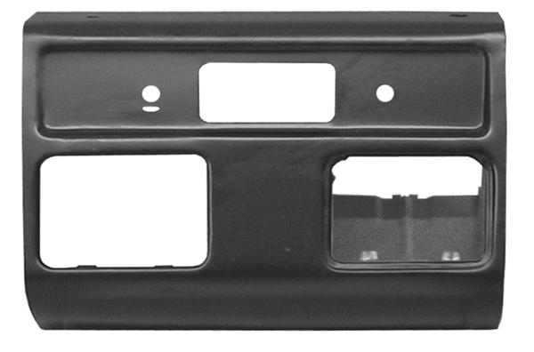 1960-63 C10 radio dash panel section