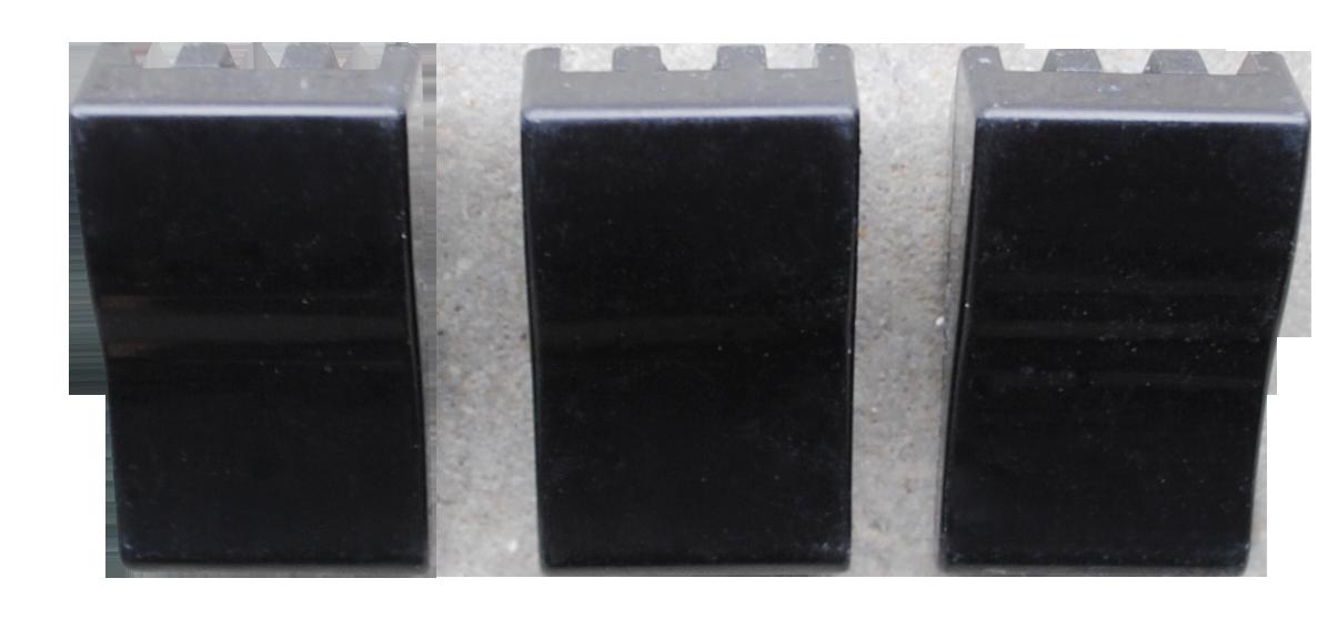 1964-66 C10 deluxe heater control knob set