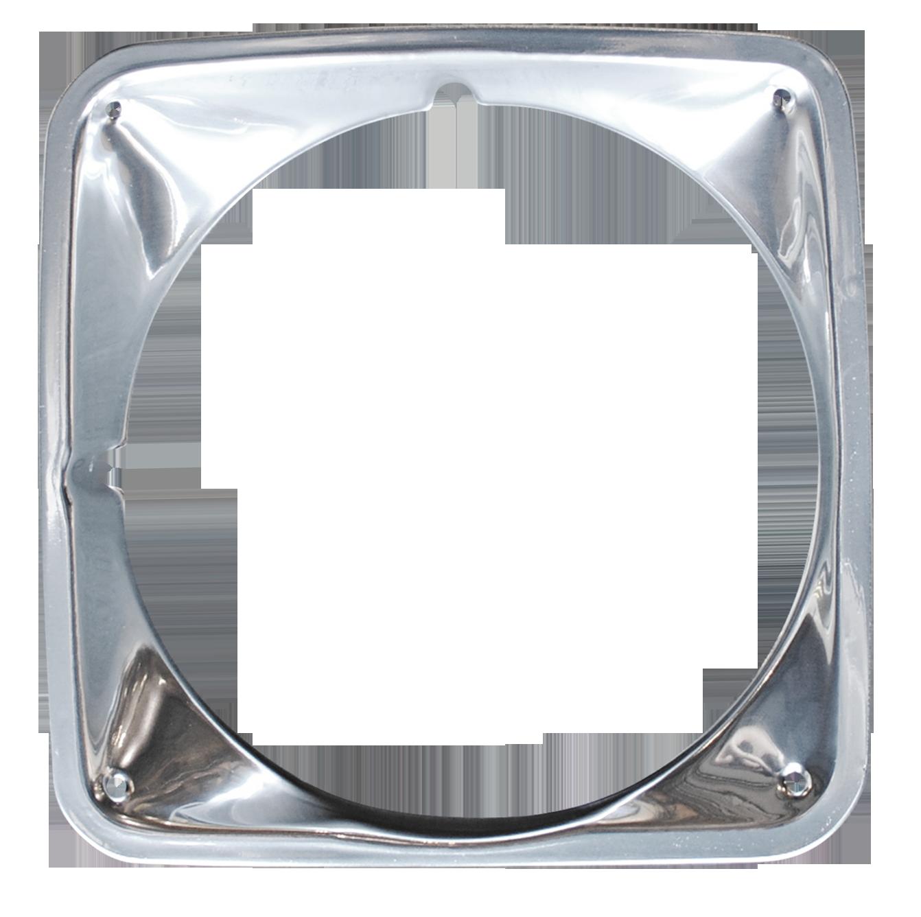 1969-72 C10 chrome headlamp bezel lt