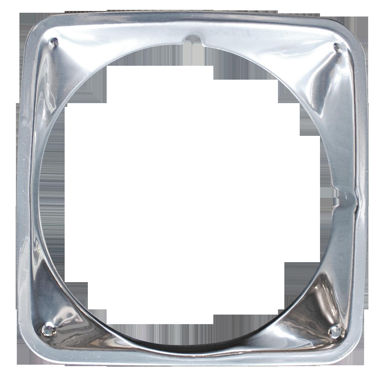 1969-72 C10 chrome headlamp bezel rt