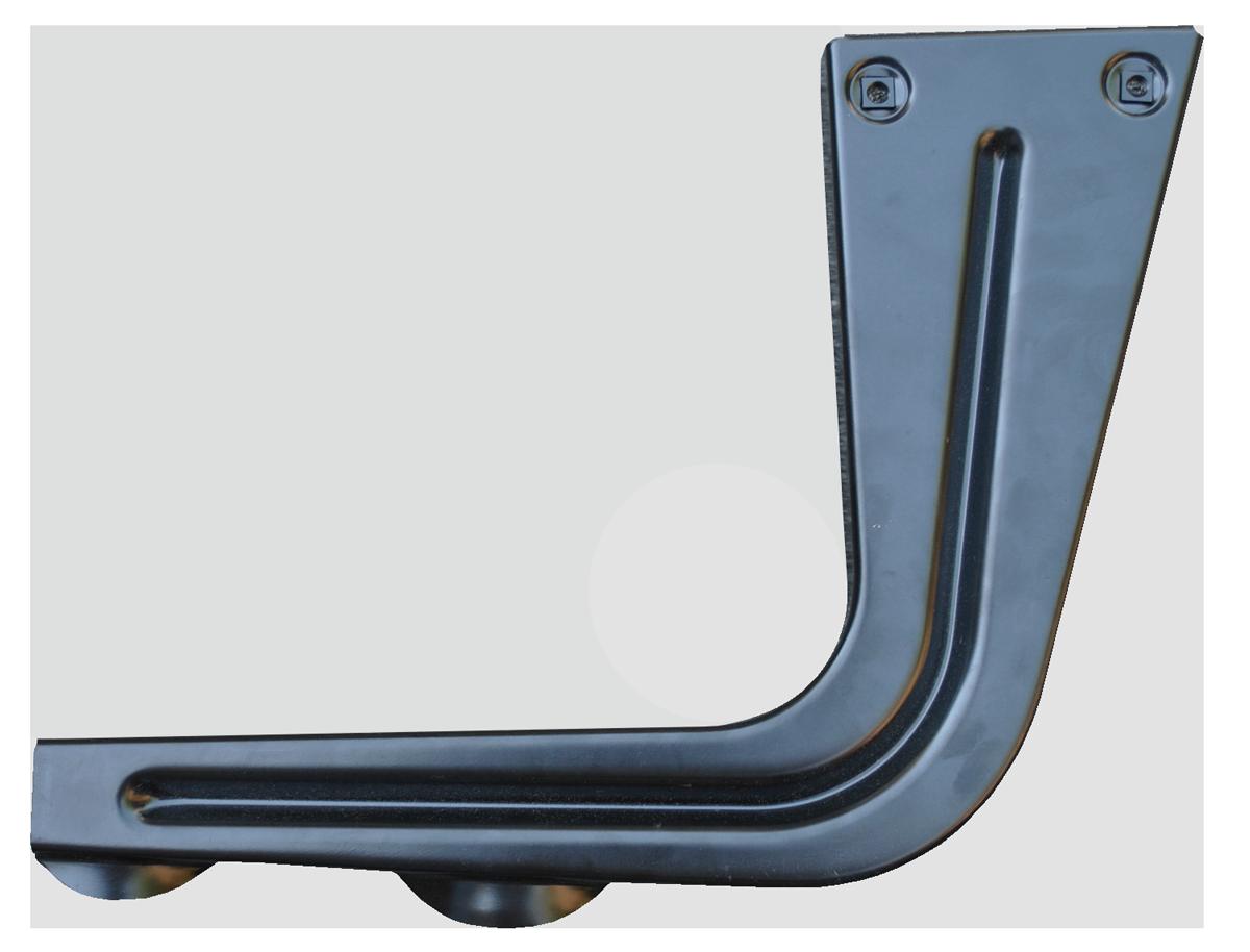 1967-72 C10 bed step hanger rt