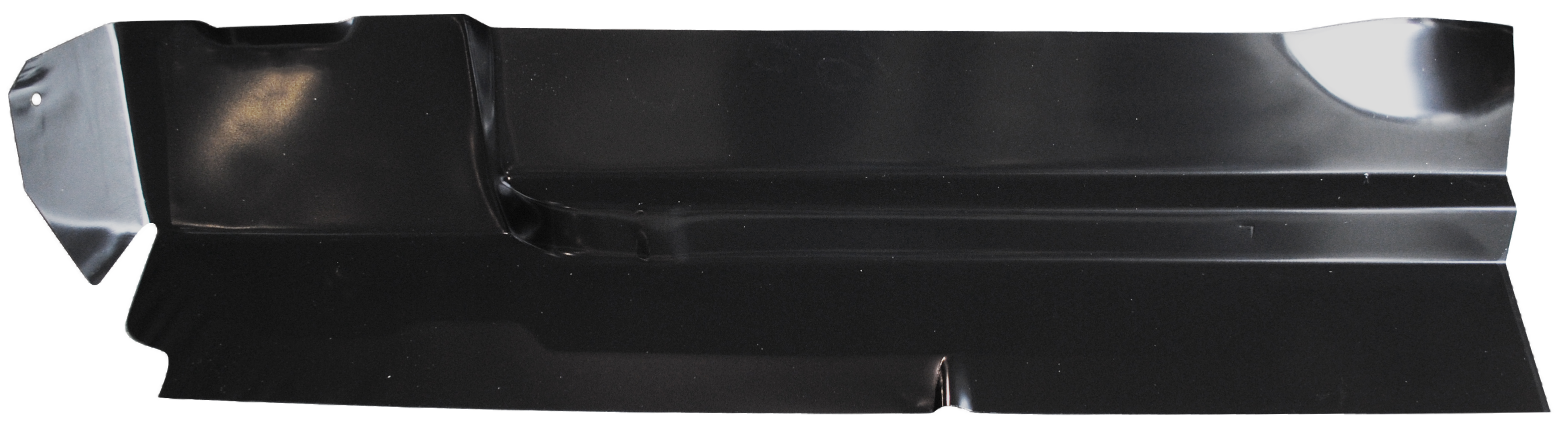 1960-72 C10 rear half outer floor section lt