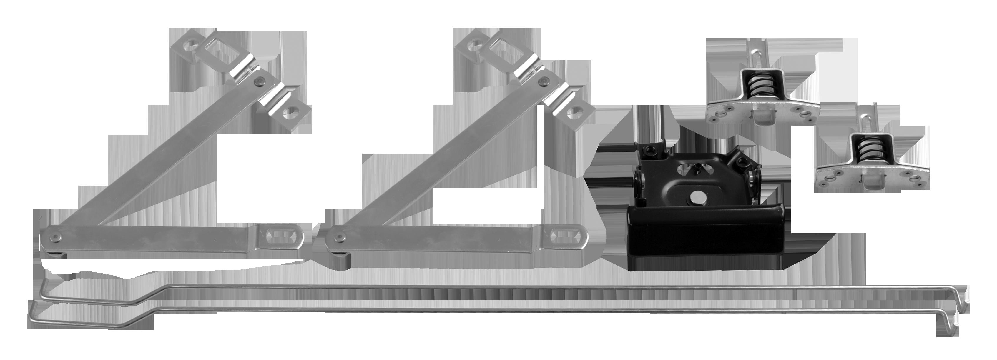 1967-72 C10 tailgate hardware kit 7 pcs