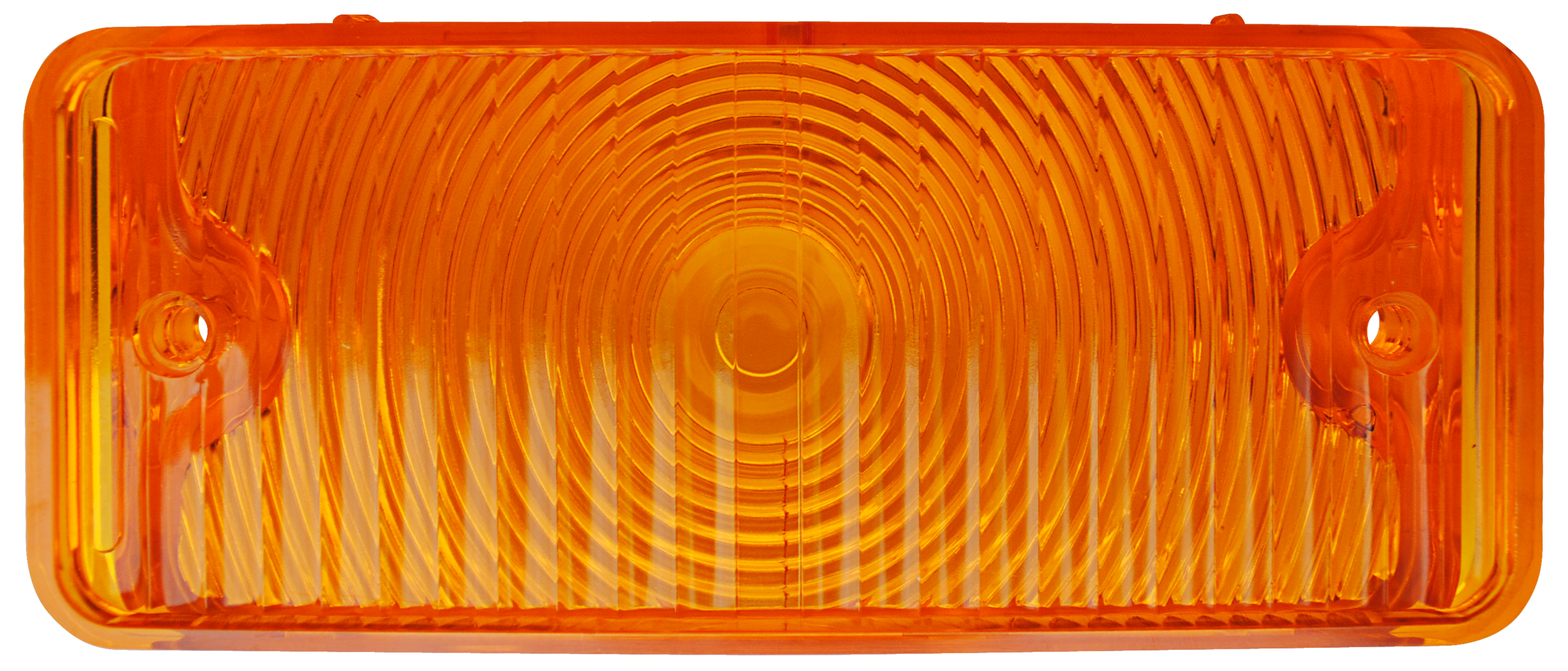 1967-68 C10 park lamp lens amber rt