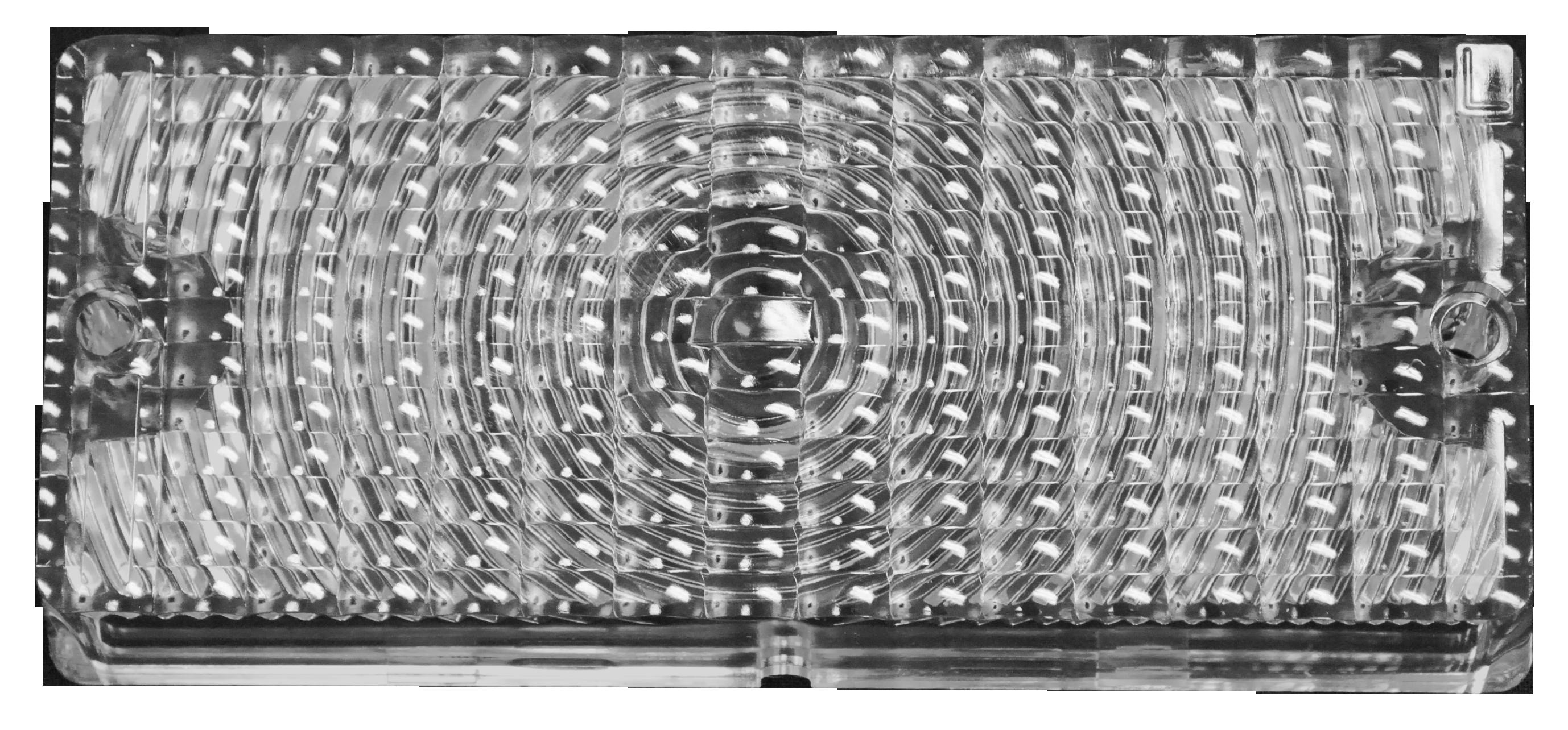 1969-70 C10 park lamp lens amber lt