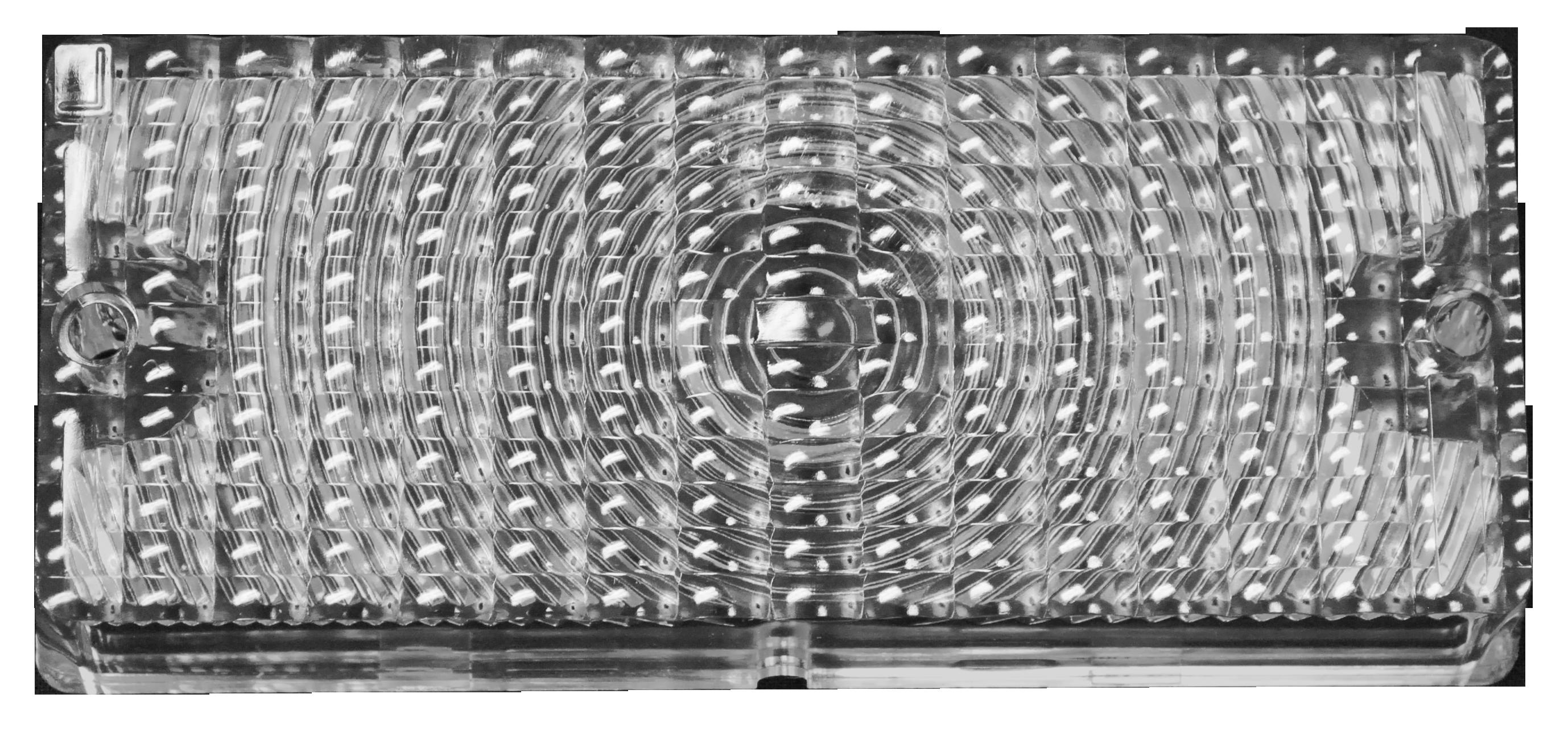 1969-70 C10 park lamp lens amber rt