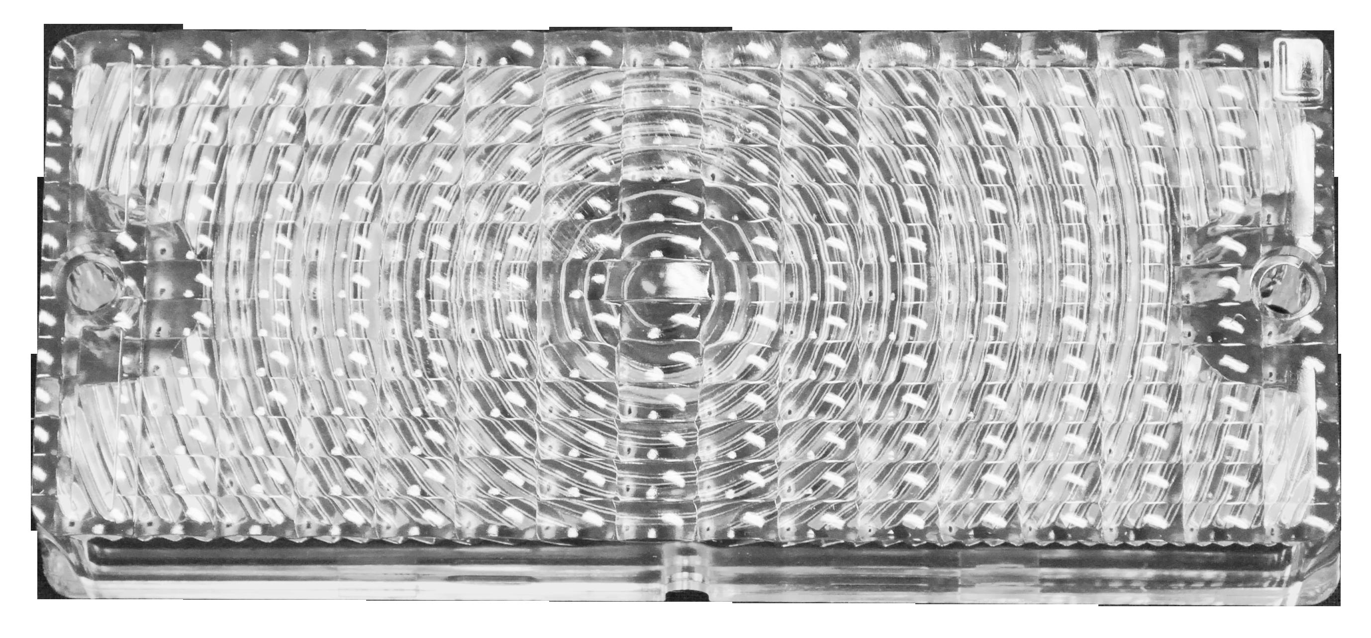 1969-70 C10 park lamp lens clear lt