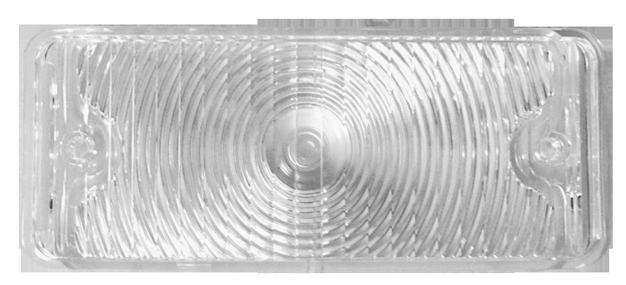 1967-68 C10 park light lens clear lt