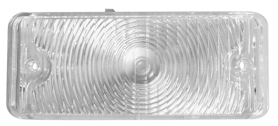 1967-68 C10 park light lens clear rt