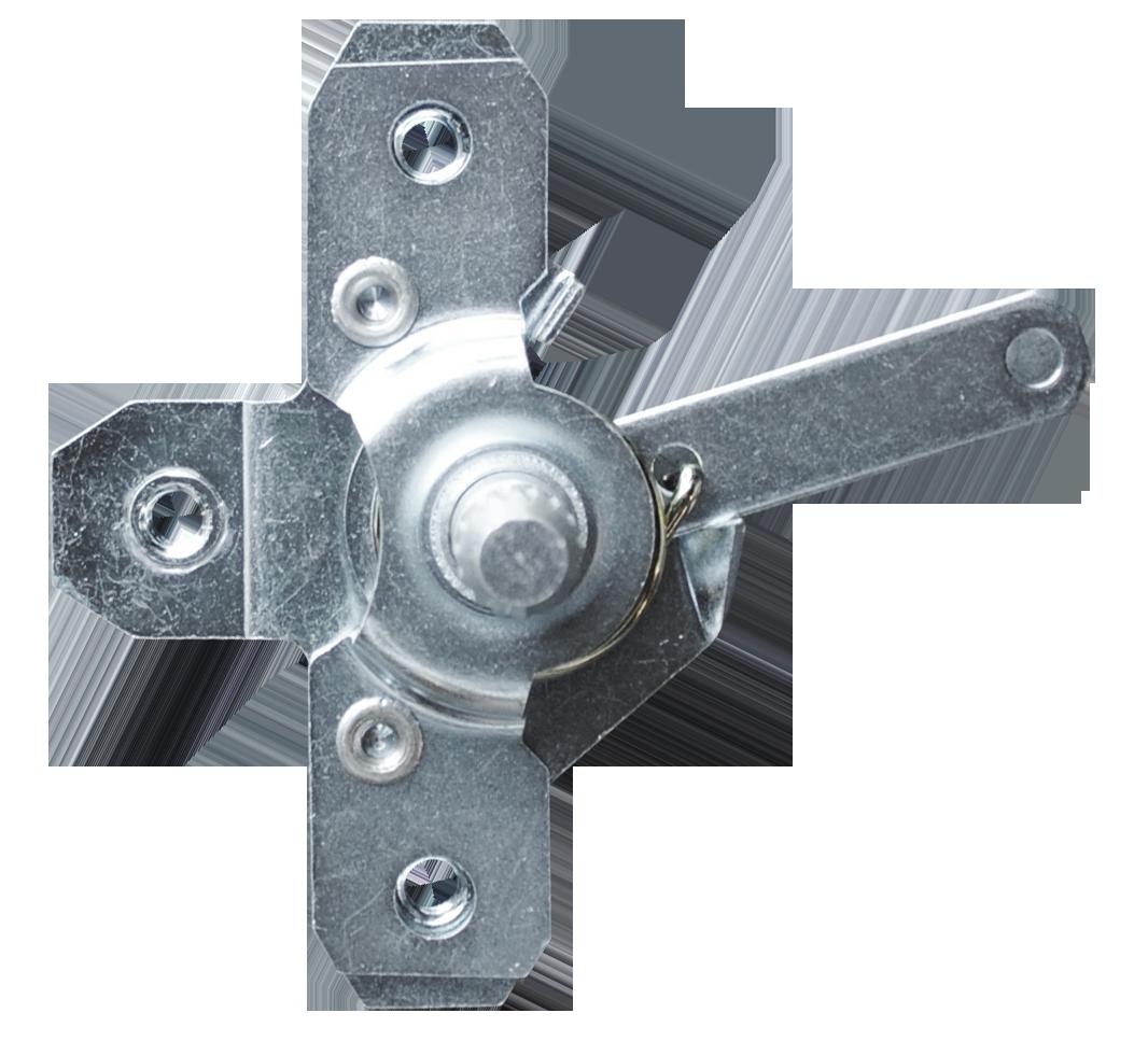 1967-72 C10 relay door latch, short shaft lt