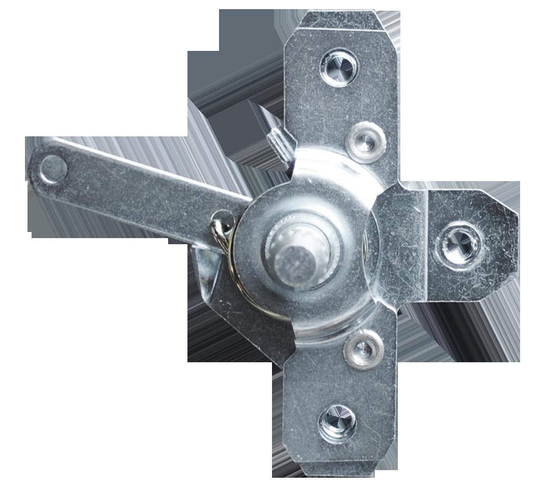 1967-71 C10 door latch relay short shaft, rt