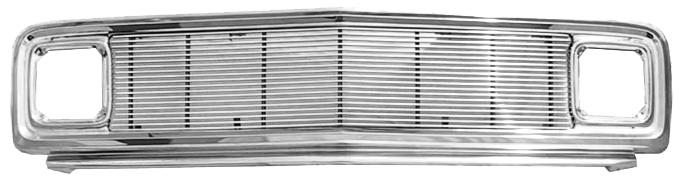 1969-72 C10 grille assembly chrome w/4mm billet insert