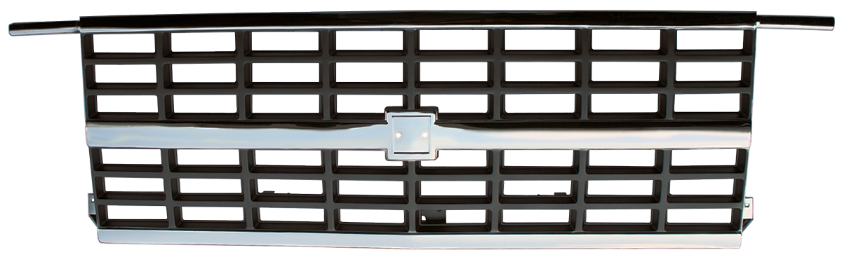 1988-91 Chevrolet truck grille with dual headlights