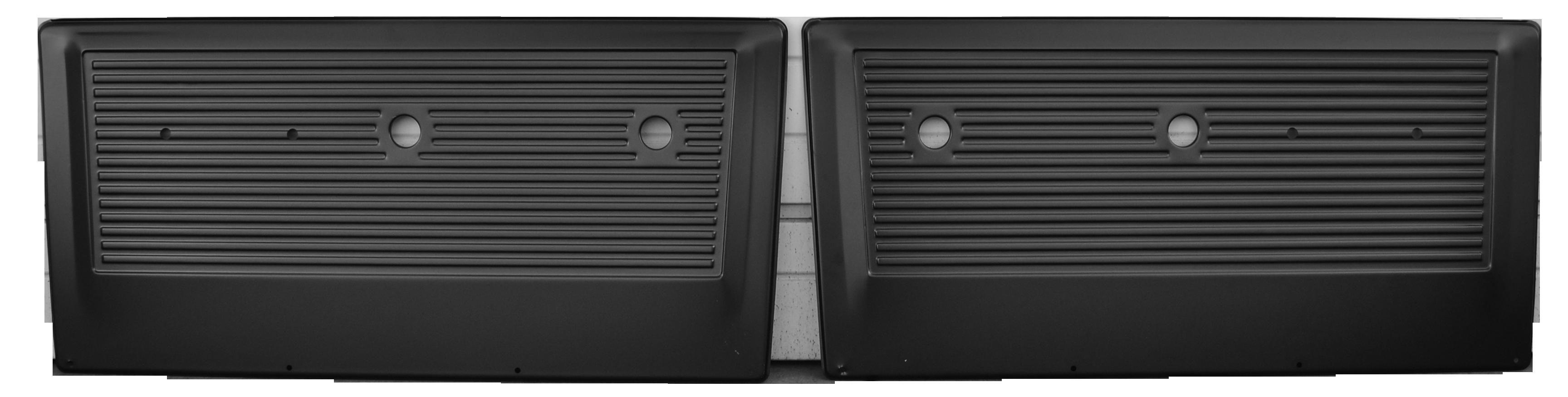 1967-72 C-10 inner door panel set painted, 2pcs