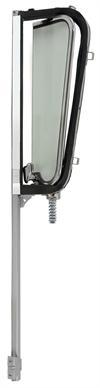 1960-63 GM truck vent window assembly w/black frame lt