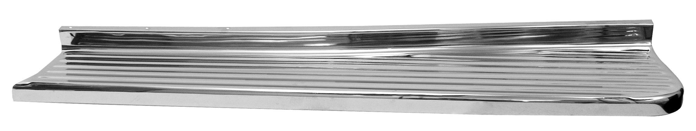 1947-54 C10 chrome running boards rt