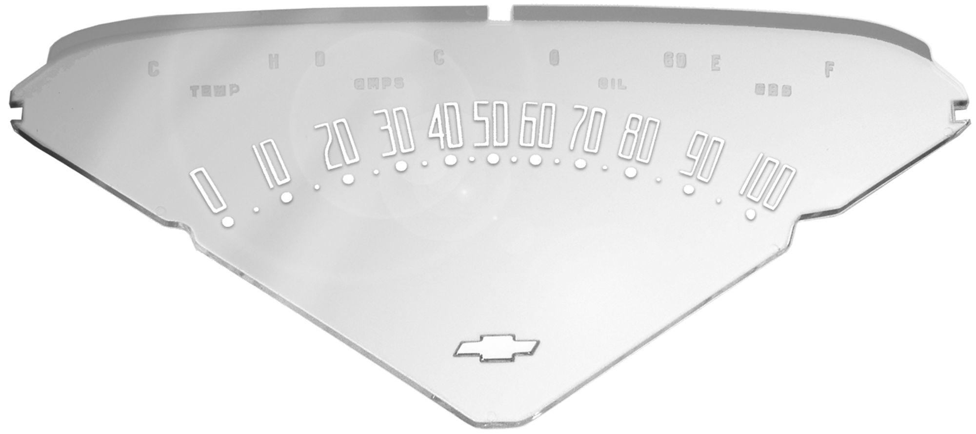 1955-59 C10 instrument cluster lens