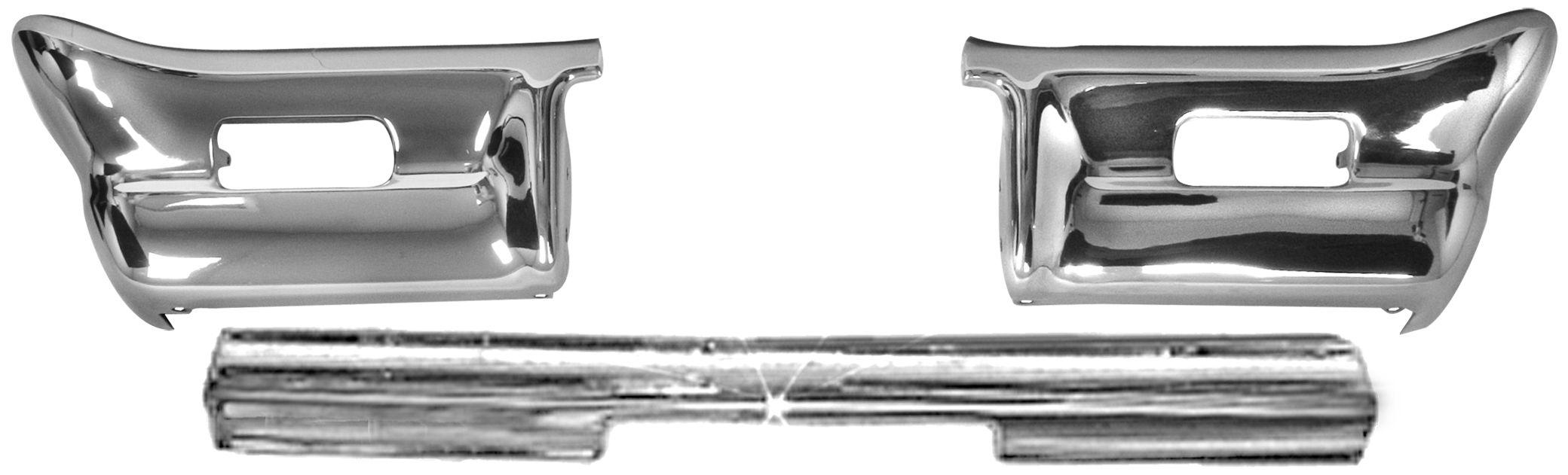 1964 Impala front bumper chrome