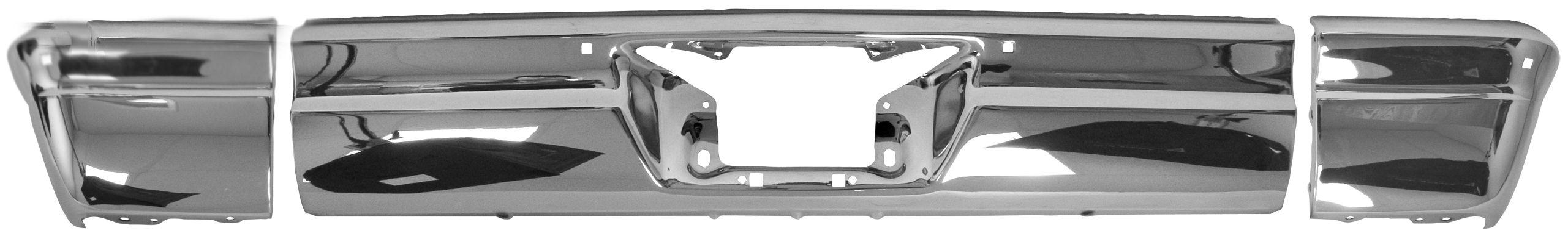 1965 Impala rer bumper chrome
