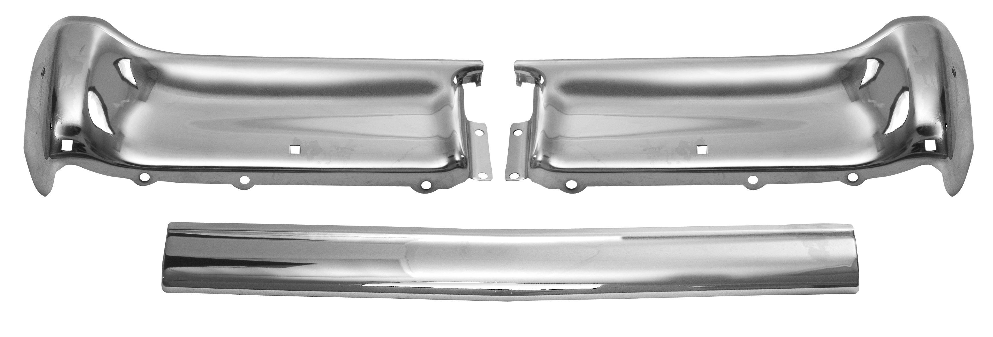 1962 Impala rear bumper 3 pcs